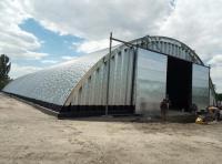 Зернохранилище арочного типа