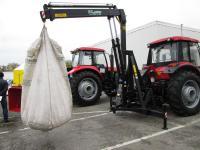 Кран-манипулятор на трактор для погрузки-разгрузки удобрений - DL Agro