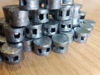 Пломбы свинцовые д.8 мм, 10 мм, 16 мм, пластмассовые д.10 мм