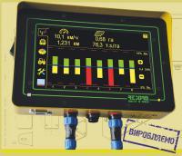 Система контроля высева Рекорд, компьютер на сеялку