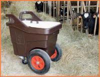 Ручная тележка для корма, 140 и 340 л
