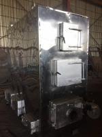 Котел термомасляный твердотопливный с автоматической подачей топлива