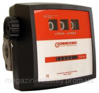 Механический счетчик MG 80 VA для учета бензина, ДТ, жидкости Adblue