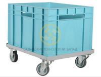 Тележки для транспортировки пластиковых ящиков