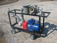 Передвижная установка для перекачки и учета светлых нефтепродуктов УПН-40