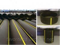 Трубы полиэтиленовые для подачи горючих газов из PE-100 SDR-17,6