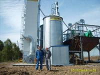 Шахтная сушилка зерна NDT 10-2 (Германия)