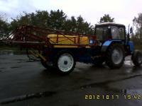 Замена распылителей опрыскивателя ОП-3000