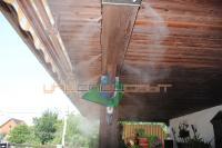 Охлаждения туманом открытых террас, веранд, площадок, беседок ресторанов, кафе.