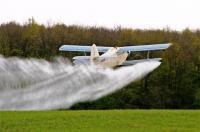 Внесение КАС-32 и селитры вертолетами агросамолётами Ан-2. Авиационно-химические работы