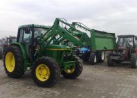 Трактор John Deere 6410 с погрузчиком