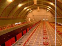 Теплоизоляция овощехранилищ, ангаров, складов методом напыления пенополиуретана