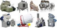 Оборудование для гранулирования комбикормов, биотоплива