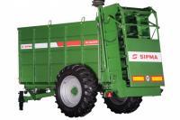 Разбрасыватель органических удобрений ZEFIR RO 6-10 тонн