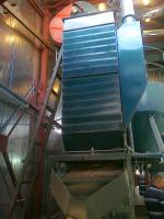 Охладительная колонна гранулятора ОГМ 1,5