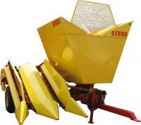 BERKO-025 - новая модель комбайна для уборки кукурузы