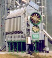 Зерносушилка  Sukup с двумя вентиляторами