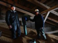 Активне вентилювання зерна – запорука збереження врожаю