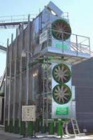 Зерносушилки Sukup из двух модулей