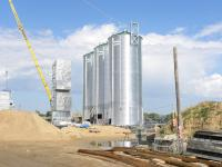Монтаж металоконструкций элеваторного оборудования
