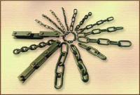 Цепи круглозвенные калибром от 3 до 26 мм ковель