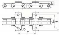 Цепь ТРД-38,0, звенья