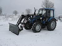 Отвал для снега на погрузчик фронтальный Herkules