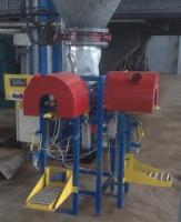 Фасовка в клапанный мешок 25-50 кг