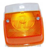 Плафон фонаря подфарников с поворотником Hella Claas 233850.04