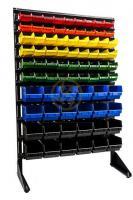 Односторонний стеллаж с ящиками для метизов 1500 мм.