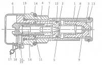 Корпус клапана 313-02-2020 погрузчик L-34 Stalowa Wola