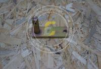 Кронштейн ролика дорожки беговой подборщика Джон Дир
