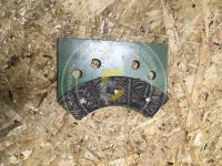 Тормоз вязалки левая пластина Сипма Z224