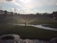 Консервация автоматического полива газонов