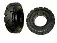 6.00-9 Цельнолитая шина с замком для вилочныx погрузчиков  - ADDO, тележек и спецтеxники