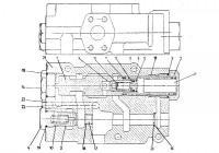 Клапан переключающий ZBDV 13C26AL погрузчик L-34 Stalowa Wola