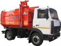 Мусоровоз с боковой загрузкой для вывоза мусора
