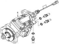 Топливный насос высокого давления ТНВД 3973228 двигатель Cummins ISLe 310, 340, 375