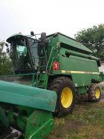 Послуги (аренда) із прибирання кукурудзи, соняшнику та рапсу по всій Україні