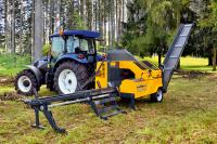 Процессор для производства дров Uniforest Тitanium  40/20 (Словения)