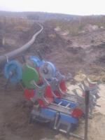 Стыковая сварка ПЭ трубопроводов