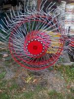 Колесо в зборі сіно (грабарки) ворушилки на 4 або 5 коліс