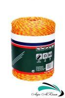 Шнур-плетенка (3-х жильная бечевка) для электропастуха, 500 м