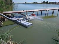 Фильтр самопромывной плавающий для систем водозабора с обратными клапанами