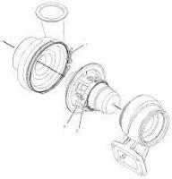 Картридж турбокомпрессора 2116960 двигатель Caterpillar C18