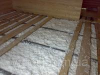 Задувка утеплителя- крыша, потолок, стены