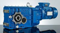 Коническо-цилиндричиский мотор-редуктор серии MBH