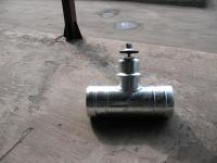 Соединитель для рукавов c приваренным гидрантом