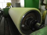 Гуммирование (футеровка) полиуретаном валов, колёс, роликов