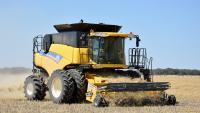 Услуги уборки урожая комбайнами Claas Lexion, John-Deere, New Holland
